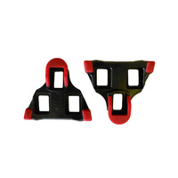Cleats Pair Shimano SPD-SL Compatible Red 6 Degree Float (not fixed) 26007R
