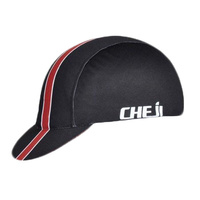 Cycling Cap Light Weight Cheji Black/Red 26015