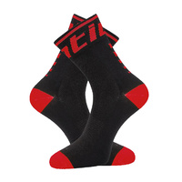 Socks Santic Mens Black/Red 39 - 43