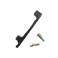 Disc Brake Adaptor IS Mount 160mm to 203mm Mr Control Black ADP-PM1620