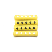 Cable Cover Set Split Silicone Yellow Coloury BCP