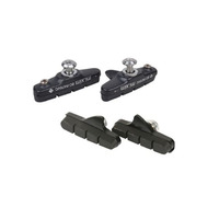 Brake Pads and Holders Road Shimano/Sram Style - Warder Black - Full Set