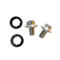 Crank Bolts For Square Taper Bottom Stainless Steel 8mm Ducas