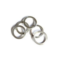Chainring Bolt Spacer Set 1.0mm Alloy Shim Silver