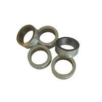 Chainring Bolt Spacer Set 5.0mm Alloy Shim Silver
