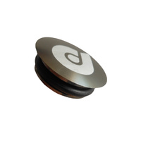Crank Dust Cap Push In Drive Side GXP TI/Silver