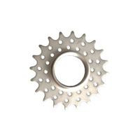 "Cog Track Fixie 3/32"" x 20 Tooth Double Tempered CrMo with Lock Ring"
