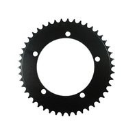 Chainring Track Single Fixie 130BCD x 3/32 x 46T Shun