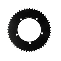 Chainring Track Single Fixie 130BCD x 1/8 x 52T Shun