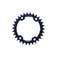 Chainring Single MTB 96BCD x 30T 7075T6 Asymetric Wide Narrow 9 - 12 Speed Shun