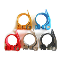 Seat Post Clamp Quick Release Alloy 34.9mm CX-49