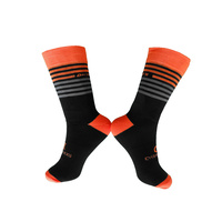 Socks Cycling Summer Breathable EU 39 - 46 DH07 Sports Orange/Grey