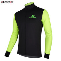 Jacket Windproof Breathable Black/Green (Very Slim Fit) Large Darvie DVJ140