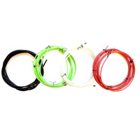 Brake & Gear Cable Set Universal Inners/Outers/ Green Only GUB-SIS