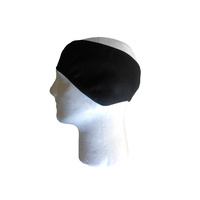 Ear Warmer/Head Band - Windbreak Fleece Stretch Fit Black Saint