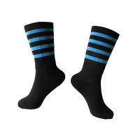 "Socks Cycling Unisex 8"" Breathable Rongwei Sports 41-47 Hoops Blue"