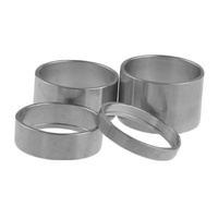 "Titanium Grade 5 Headset Spacer Set 1 1/8"" x 32mm Tiremet"