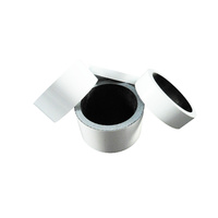 "Carbon Headset Spacer Set 1-1/8"" x 50mm Gloss White Painted Finish Bevato"