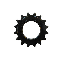 "Cog Track Fixie 3/32"" x 16T Steel Dicta Black"