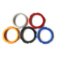 Lock Ring Track Cog Alloy Anodised 13T Left Hand Thread