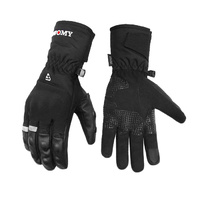 Gloves Mens Long Thermal & Waterproof with knuckle protection Suomy Medium.