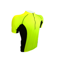 Jersey Short Sleeve Mens Hi Vis/Black Small Only