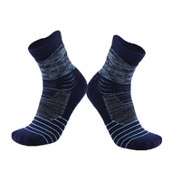 "Socks Unisex 6"" Winter Cotton Cycling Sports 41-47 Blue"