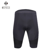 Nicks Shorts Mens Black Padded with Carbon Weave panels and Gel Pad MK019 Medium
