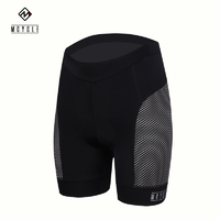 Nicks Shorts Womens Black Padded with Honeycomb side panels MK020W X-Large
