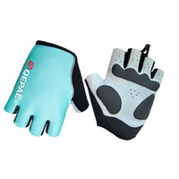 Gloves Unisex Lycra/Synthetic Leather Blue Qepae QG055
