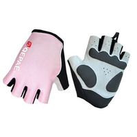 Gloves Unisex Lycra/Synthetic Leather Pink Qepae QG055
