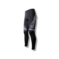 Tights Mens Lycra Padded Black Medium Spakct (Non Thermal) S13T11B