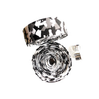 Handlebar Tape EVA Soft Foamed Marble White/Black/Grey Non-stick Saint