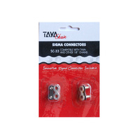 "Chain Joiner Taya (Pair) No Tools Single Speed 1/8"" SC-33 Silver"