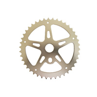 Chainring Steel BMX 1/8 x 40T Shun Chrome SS903