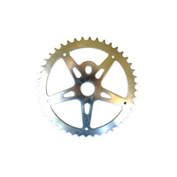 Chainring Steel BMX 1/8 x 44T Shun Chrome SS903