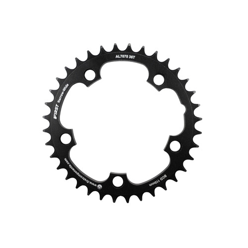 Chainring Single CX 110BCD x 36T 7075T6 CNC Wide Narrow 1 x 9,10,11 Speed Shun