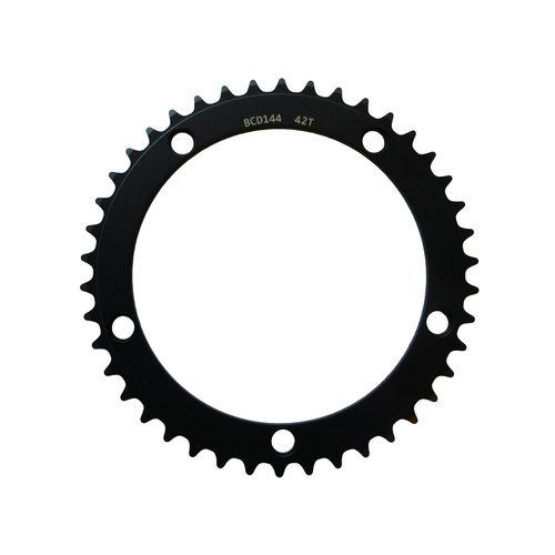 Chainring Track Single Fixie 144BCD x 1/8 x 42T Shun