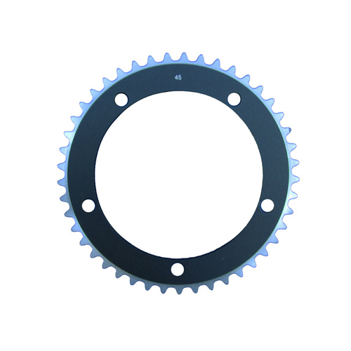 Chainring Track Single Fixie 144BCD x 1/8 x 45T Flawed Lanxi