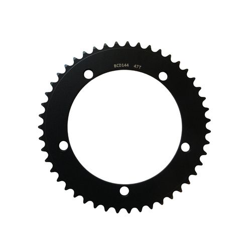Chainring Track Single Fixie 144BCD x 1/8 x 47T Shun