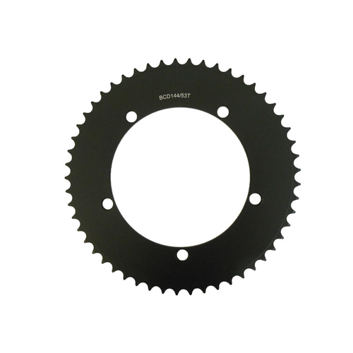 Chainring Track Single Fixie 144BCD x 1/8 x 53T Shun