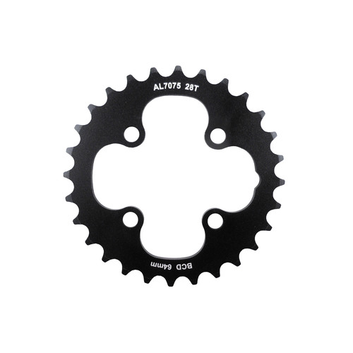 Chainring MTB Inner 64BCD x 28T for 2 x 10 Shun