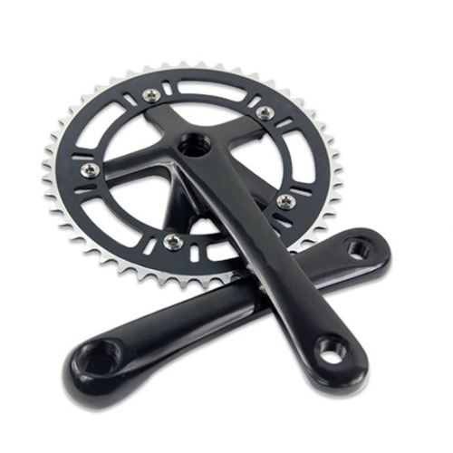 Crank Set Single Fixie Alloy 44T x 170mm DEX R0 Black Slightly Imperfect