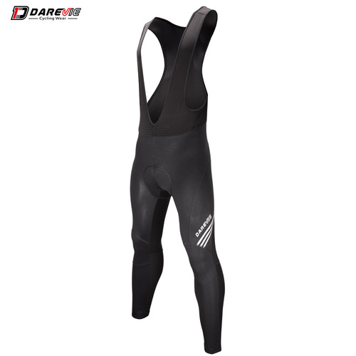 Bib Tights Mens Thermal Wind Block Mesh Uppers with Gel Pad Medium Darevie DVP61