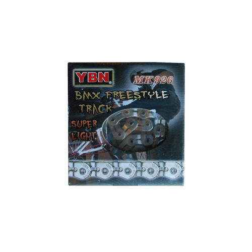 Chain YBN Single Speed Half Link 1/2x3/32 x 102L Silver MK918N