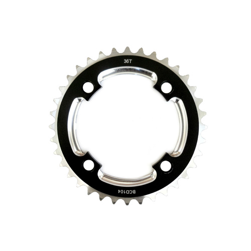 Chainring Single Fixie MTB 104BCD x 3/32 x 36T Shun Heavy Duty MTB-A01