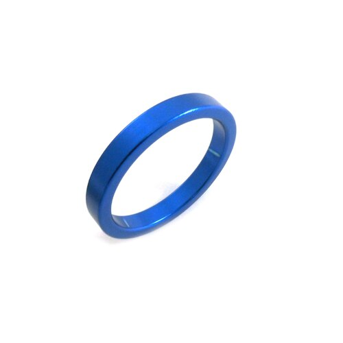 "Headset Spacer 1-1/8"" x 5mm x 35mm Anodised Blue PT67A"