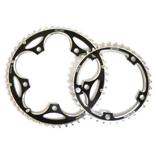 Chainring Set 9 - 11 Speed 38/50T x 130BCD Shun SS-9201