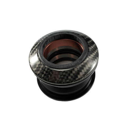 "Headset Internal Alloy Carbon Pattern Cap 1-1/8"" ZS44/ZS44 Prestine T23"